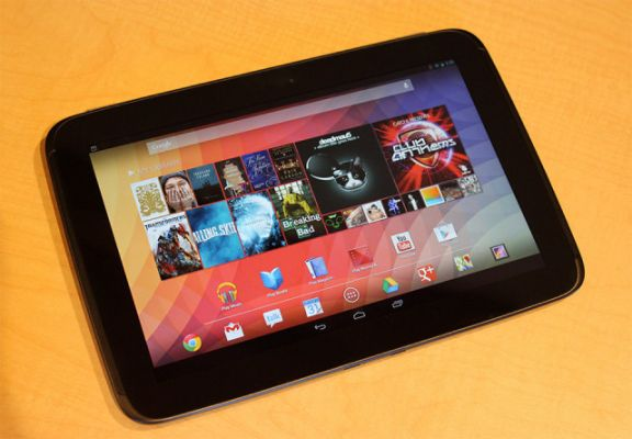 google nexus 10 Top 5 Android Based Tablets Right Now   April 2013