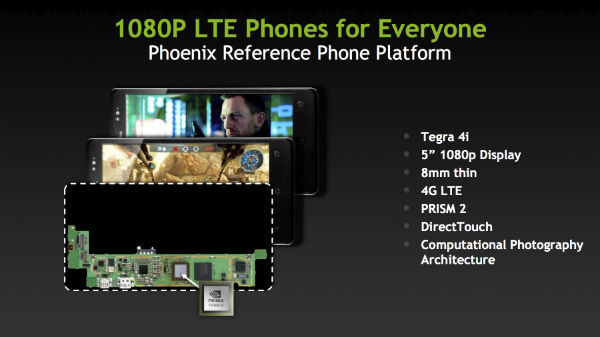 nvidia tegra 4i lte Ultra Low End Smartphones Give Worse Outlook for Intel