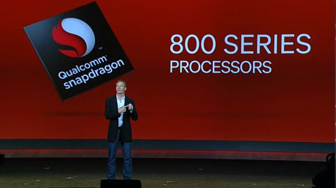 qualcomm s800 Qualcomm Becomes 3rd Biggest Chip Maker by Revenue