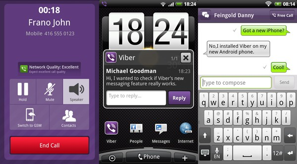 viber app for android Download BBM for Android App Alternatives