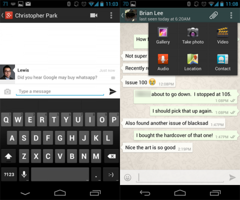 whatsapp messenger android Download BBM for Android App Alternatives