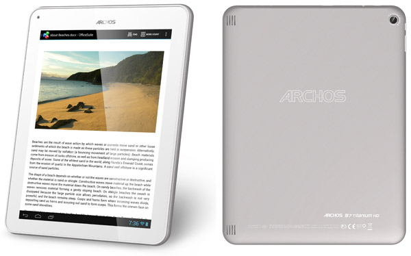 Archos 97 Titanium HD 03 Best 9.7 Android Tablet