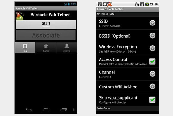 barnacle wifi tether How to Tether Android and Turn Your Phone into a Mobile Wifi Hotspot