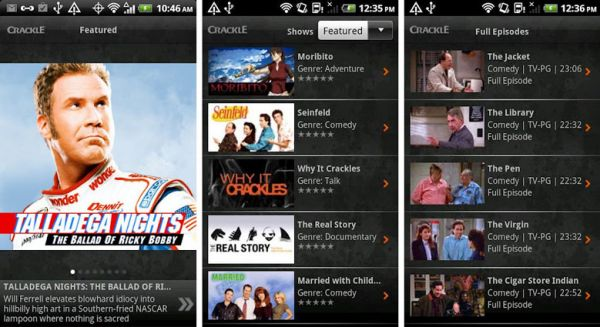 crackle android app How to Watch TV on Android Phone or Tablet