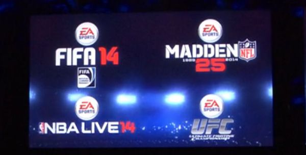 EA Sports new Xbox One Game Releases.