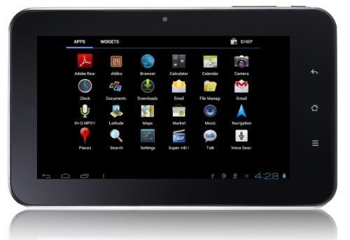 tivax mitraveler 7d Best Cheap Android Tablets Under $100   May 2013