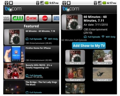 tv com android app How to Watch TV on Android Phone or Tablet