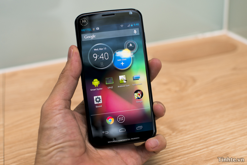 Smartphone Motorola Motorola X to Come with Pure Android, Fast Upgrades, and Clear Pixel Camera