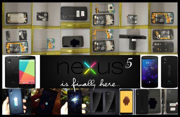 Nexus 5 is Finally here