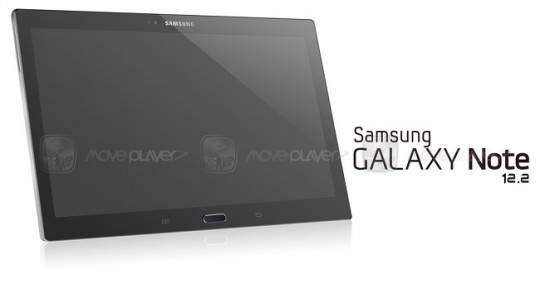 Samsung Galaxy Note 12.2-inch tablet surfaces in leaked render
